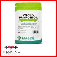 Lindens Evening Primrose Oil 1000mg 90 Capsules Womens Health Skin