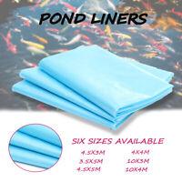 33X13Ft Outdoor Fish Pond Liner Skin Garden Landscaping Supplies Equipment US