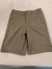 Under Armour Beige Shorts Loose Fit Youth Size 16