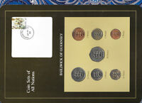 Coin Sets of All Nations Guernsey 1979-1984 UNC £1,20,50 Pence 1983 10 Pence 84
