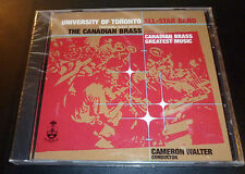 UNIVERSITY OF TORONTO ALL-STAR BAND Canadian Brass Greatest Music CD 1998 SEALED