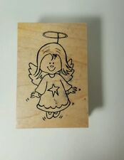 Great Impressions Angel Rubber Stamp