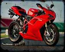 Ducati 1198S 10 2 A4 Metal Sign Motorbike Vintage Aged