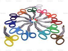 Plastic Tip 7'' Tough Cut Emergency Scissors Shear EMT Bandage Nursing 14 Colors