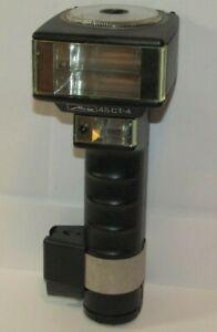 METZ (MECABLITZ) 45 CT-4 Handle Flash Gun for Pro Film Cameras