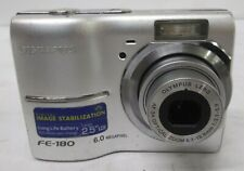 Olympus FE FE-180 6.0MP Digital Camera Tested Free US Shipping