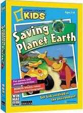 Nat Geo Kids Saving Planet Earth XP/Vista/Win7 Mac 10.4+ Ship Free781735811009