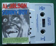 Al Jolson Sonny Boy inc California Here I Come + Cassette Tape - TESTED