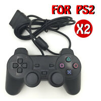 PlayStation 2 PS2 Controller Wired Dual Shock Gamepad Console Joystick Gaming