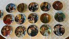 Set of 15 Gone With The Wind Collector Plates Bradford Exchange