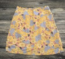 Tulle Brand Floral Lined Skirt Womens Size XS 120.31