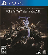 Middle Earth: Shadow Of War PS4 New PlayStation 4, PlayStation 4