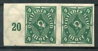 2611) DEUTSCHES REICH 1922 - Mi.Nr. 226 U im Paar ** POSTHORN