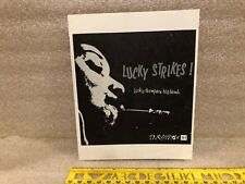 """Lucky Thompson BB """"Lucky Strikes"""" Transition 21 Booklet Copy Only"""