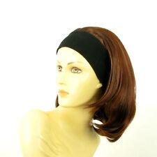 Stirnband Perücke braunen Streifen Kupfer Docht Licht blonde und rote MADY 33H13