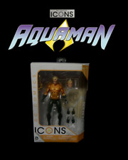 "DC Collectibles Icons: AQUAMAN (Rebirth New 52) 6"" Modern Comics Action Figure"