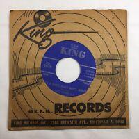 "James Brown It's A Man's World RARE KING 45rpm 7"" LP Vinyl W/ Sleeve VG+"
