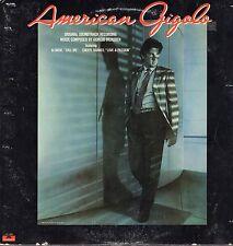 American Gigolo Vinyl LP Polydor Records,1980,PD-1-6259, Original Soundtrack~VG+