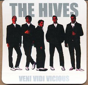 The Hives Veni Vidi Vicious RARE promo stickers (set of 4)