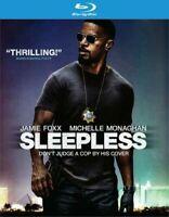 Sleepless (Blu-ray) JAMIE FOXX Brand New sealed ships NEXT DAY with tracking
