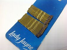Lady Jayne Bobby Pins Brown 6.4cm 25 Cushion Tip Wave Contour Technology 2620br
