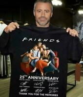 Friends 25th Anniversary Thank You For The Memories Men Shirt Printed in US