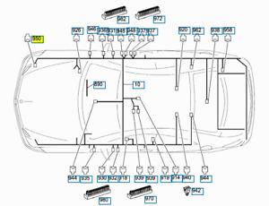 Original Mercedes-Benz Kurz Range Radar Steuereinheit Cluth Gehäuse A0001532122