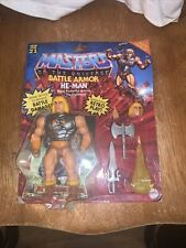 Masters of the Universe Origins Deluxe He-Man 5.5  Damaged Package