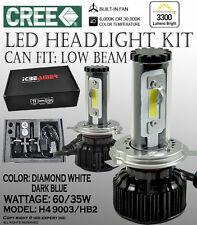 JDM H4 9003/HB2 6K 30K White & Blue Kit Canbus CREE COB LED KIT High Low Dual