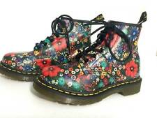 Dr. Martens Air Wair Floral Women's Hightop Boot Shoes RARE Size 6 NEW
