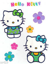 """4"""" HELLO KITTY SANRIO & FLOWERS CHARACTER  PREPASTED WALL BORDER CUT OUT"""