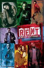 Rent movie poster (b) Idina Menzel poster, Taye Diggs poster, Rosario Dawson