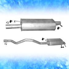 Auspuff VW T5 1.9 TDi 62 63 75 77 KW Kurz SWB 2003-2009 Auspuffanlage 0271