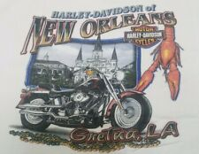 Harley Davidson Motorcycle T-shirt Xl New Orleans
