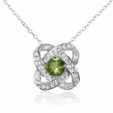 Peridot White Natural Fine Jewellery