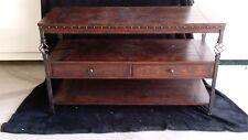 Stunning Wood Sofa Table or Buffet