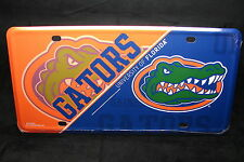 UNIVERSITY OF FLORIDA GATORS NOVELTY METAL LICENSE PLATE TAG FOR CARS UF SWAMP