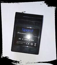 Batteria 6V 4,5ah LiFePO4 Marca SPARD