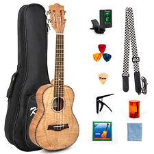 More details for tenor ukulele 26 inch ukelele with bag picks tuner strap string classical head