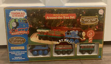 Thomas & Friends Train Around-the-tree Set Plays Holiday tune Jingle Bells
