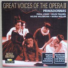 Great Voices of the Opera II - Primadonnas - Frida Leider u.a. - 2 CDs