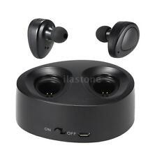 Mini True Wireless Headphone Stereo Bluetooth Sport Headset Music Hands-free Mic