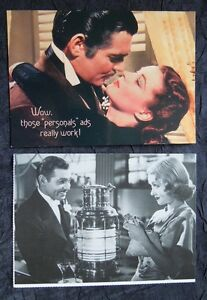 3 GONE WITH THE WIND Postcards