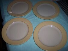 VINTAGE - SET OF 4 PLATES - STERLING VITRIFIED - CHINA - EAST LIVERPOOL, OHIO