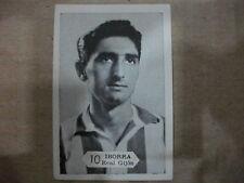 CROMO Nº 10 IBORRA  REAL GIJÓN  TEMPORADA 1958-59