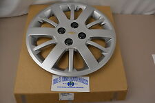 "2009 2010 Chevrolet Cobalt 15"" Silver 12-Spoke Wheel Cover Hub Cap OEM new GM"