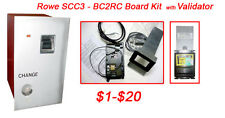 Rowe Bc2Rc/Scc3 Bill Changer Kit with Validator - Mei $1-$20