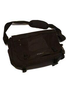 Eddie Bauer Messenger Bag Laptop Computer Case Black
