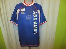 """Ajax Amsterdam Original umbro Auswärts Trikot 1999/00 """"ABN- AMRO"""" Gr.L Neu"""