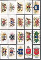 1903 Wills's Cigarettes Borough Arms Tobacco Cards Complete Set of 50
